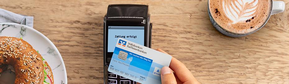 Kontaktlos bezahlen Kreditkarte